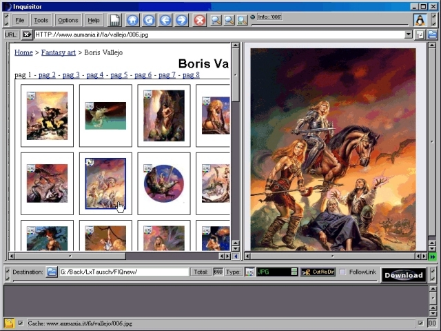 save, fast visual Picture Site Ripper, Offline Browser, multiconnect FTP Client, HTTP Scanner, Picture Downloader